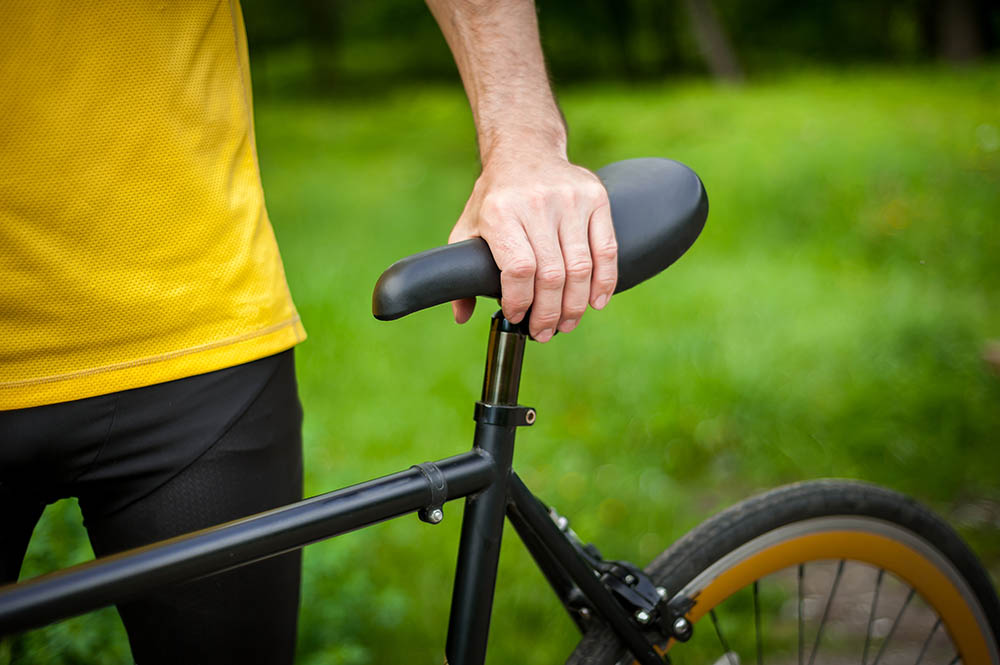 How do I stop my bike seat from hurting
