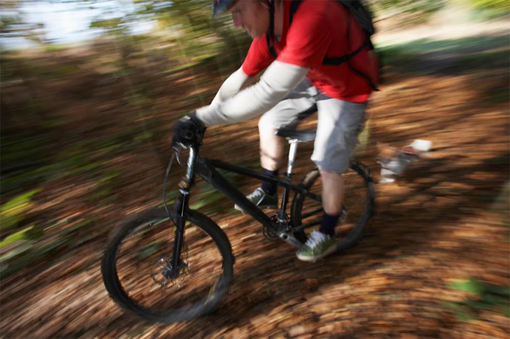 can you outrun abear on a bike
