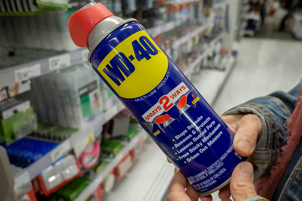 Can I use wd40 as bike degreaser